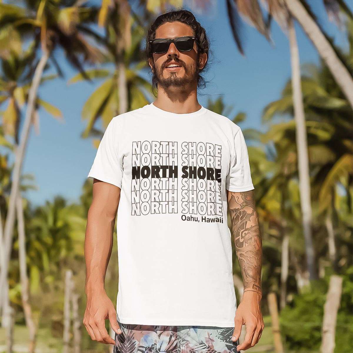 north shore tシャツ